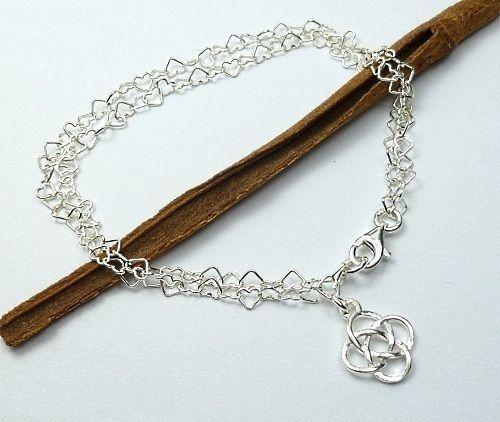 bransoletka charms - baza + ZNAK WIECZNOŚCI srebro