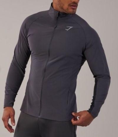 Gymshark bluza kurtka wiatrówka zero gravity track top r. L nowa