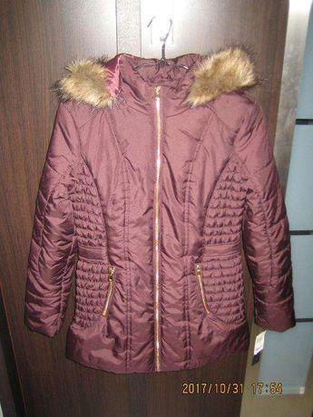 zimowa kurtka dziewczęca