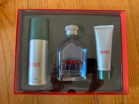 Hugo Boss Perfume + Deodorant + Shower Gel