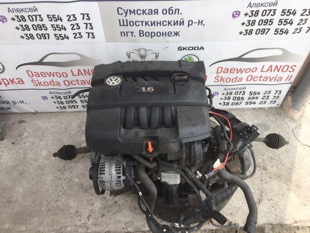 Двигатель 1.6 MPI BGU,BSE Шкода Октавия А5 Skoda Octavia A5