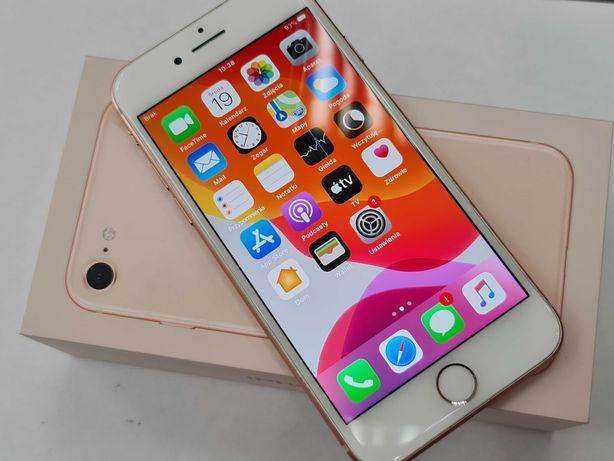 Iphone 8 256GB/ Złoty/ Gold/ 100% sprawny/ Bateria 84% oryginał