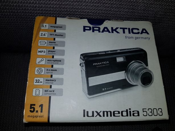 Aparat cyfrowy PRAKTICA luxmedia 5303