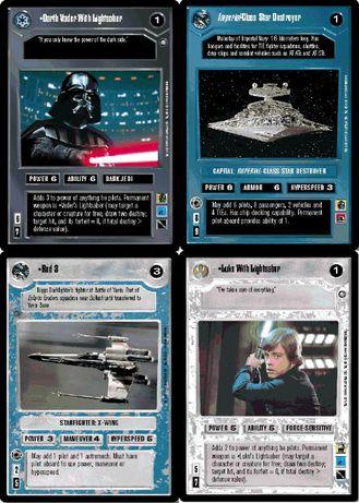 Nadmiary karcianki Star Wars CCG sprzedam lub wymienię