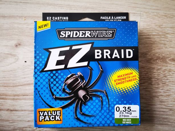 Plecionka Spiderwire EZ braid 0,35 mm 270m Whiplash fireline