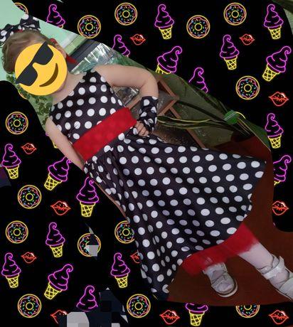 ретро платье на девочку 5 - 7 лет