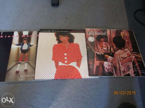 3 Discos de vinil de Linda Ronstadt