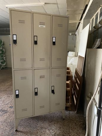 Cacifos usados - 6 portas