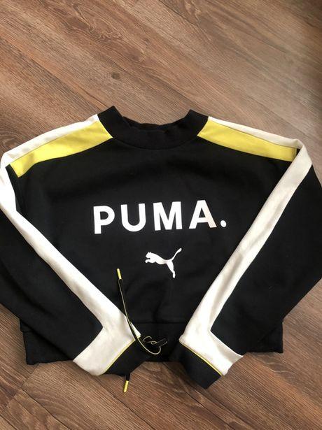 Укороченый свитшот новой коллекции PUMA