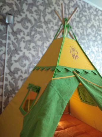 Дитячий наметовий будиночок «Зоряне небо» (вігвам, детская палатка)