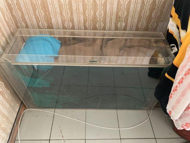 АКВАРИУМ 330 л. Биофильтр. Органическое стекло. РУЧНАЯ РАБОТА.