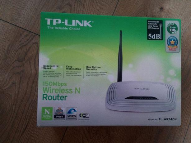 Ruter Wi- Fi biały BDB stan TP-LINK 150Mbps Wireless N Model TL-WR740N
