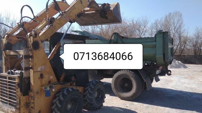 Песок, щебень, грануляция,гранотсев, отв.шлак,навоз,вывоз мусора.