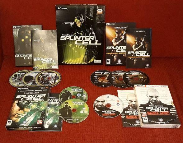 Splinter Cell 1+2+3+4 Big Box PC PL