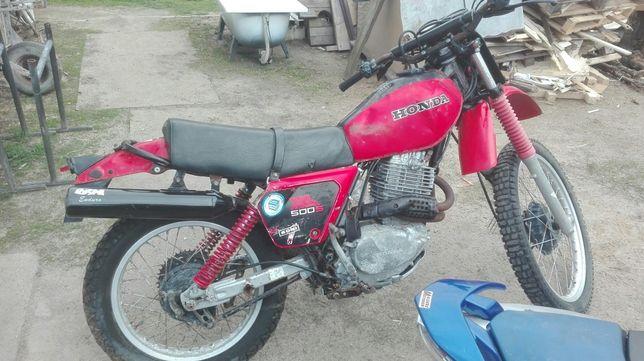 Honda xl 500 xl250 pd01