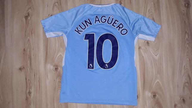 Koszulka Nike XL 170 Manchester City Kun Aguero 10