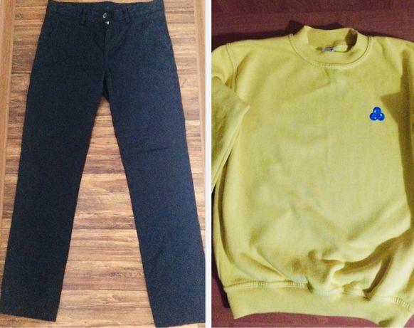 Пакет фирменных вещей джинсы реглан свитер 158-164 цена за все