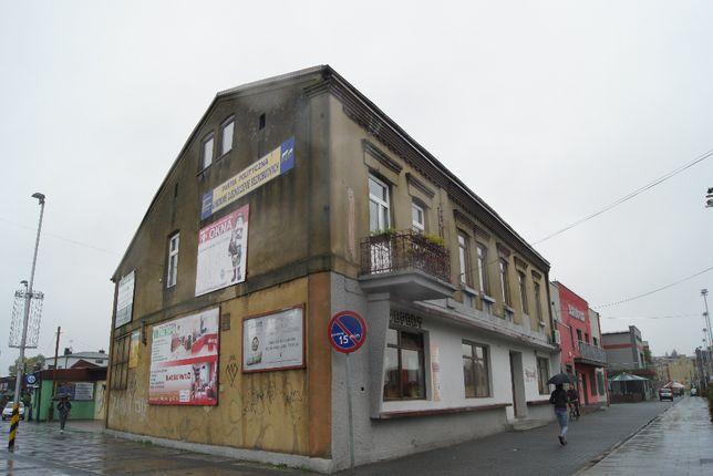 budynek usługowo-handlowy piętrowy ul.Kościuszki 1 Łazy