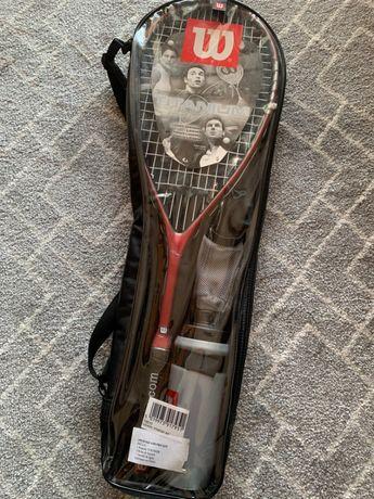 Raquete Squash Wilson Titanium - Nova