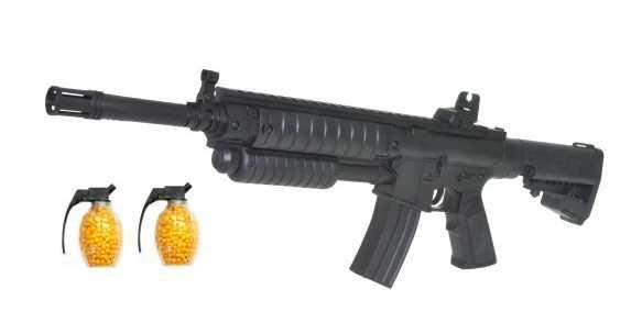 M16 Karabin 6mm Pistolet Asg +kulki Gratis