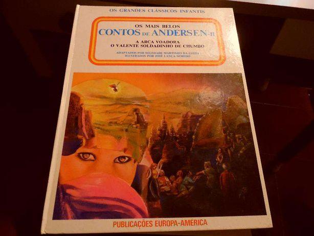 livro contos de Andersen