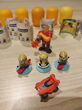 Figurki 3D kolekcje Minionki + stempelki, Psi Patrol auto Zuma, Ben10