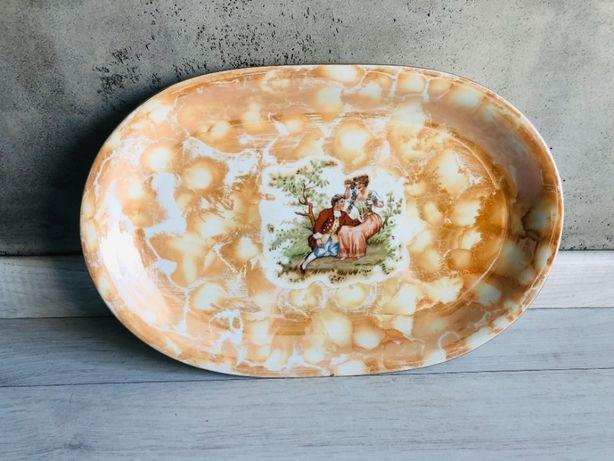 Wawel Made in Poland talerz patera taca PRL porcelana