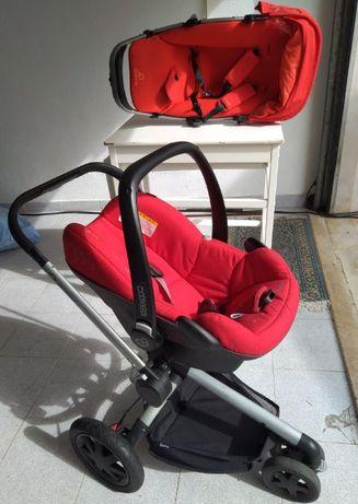 Carro de bebe Quinny com ovo + cadeira