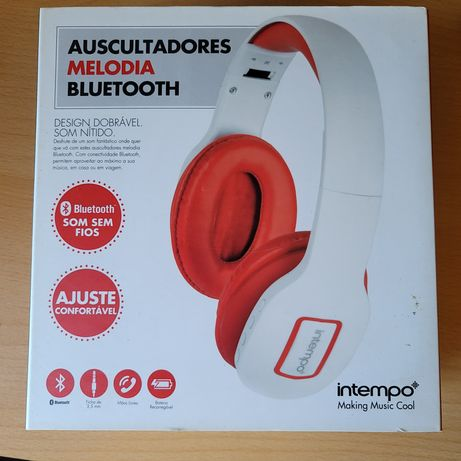 Auscultadores Bluetooth