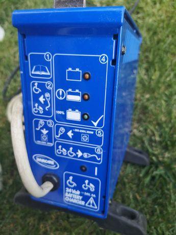 Ładowarka zasilacz wózek elektryczny skuter inwalidzki.