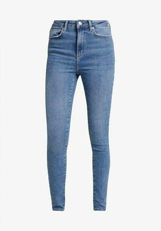 Vero Moda spodnie jeansowe rurki wysoki stan XL/30
