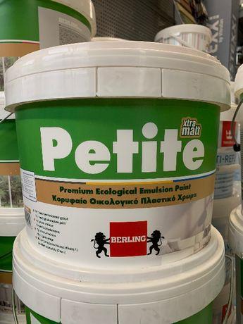 Farba Berling Petite Mat super wydajna!