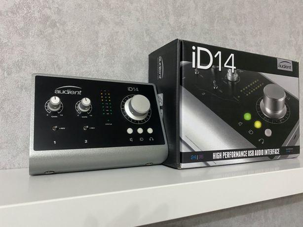 Аудио интерфейс Audient iD14