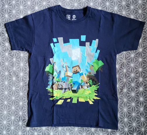 Koszulka t-shirt minecraft mojang Jinx wysyłka 10-11 lat 140-146