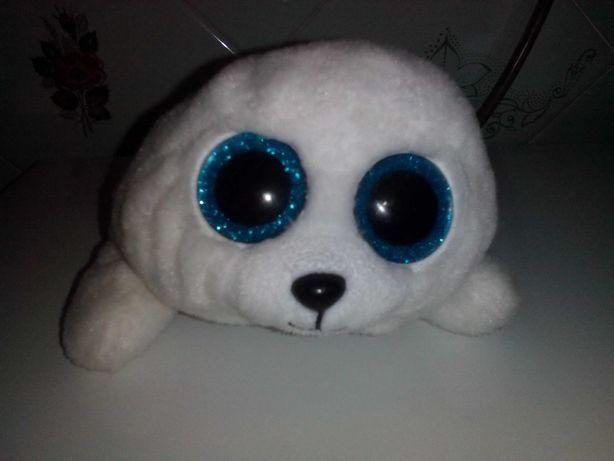 Тюлень Глазастик игрушечный