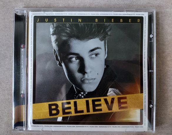 Płyta Justina Biebera Believe