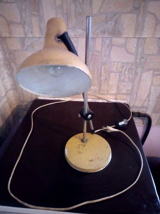 Super Okazja !! Lampka biurkowa wczesny PRL HIT !!! Biłgoraj - image 1