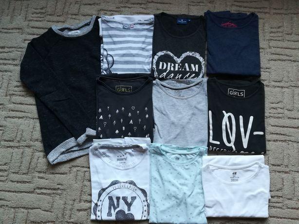 Paka firmowych bluzeczek 134-140