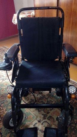 Nowy wozek inwalidzki z napedem elektryczny
