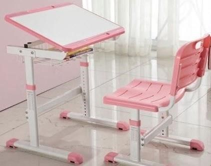 Детская парта столик со стулом, подставка под книжки