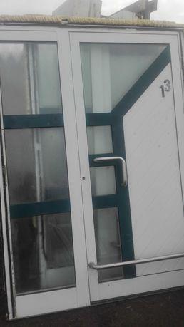 Drzwi zewnętrzne aluminiowe używane z Niemiec