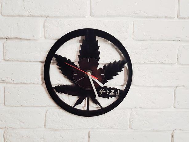 Zegar z płyty winylowej, zegary z płyt winylowych, zegar na ścianę