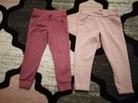 Spodnie dresowe f&f 4/5 lat