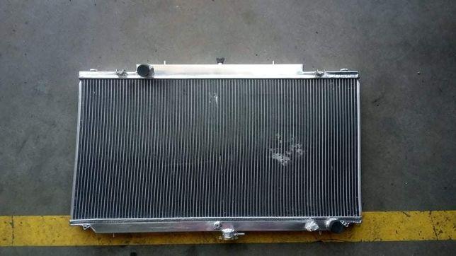Radiador novo Nissan Patrol GR Y61 alumínio, grande capacidade M57