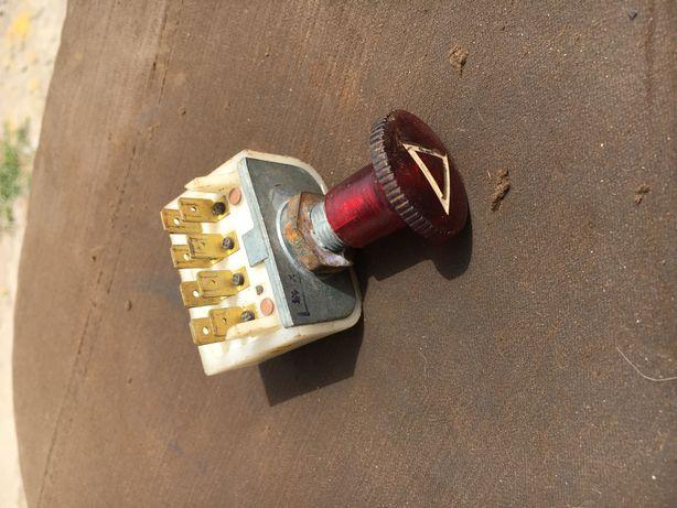 Кнопка аварийной сигнализации 8-ми конт. ВК 422-12/24 Новая СССР
