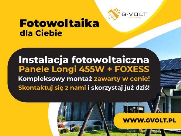 INSTALACJA fotowoltaiczna 10 KW - 34 000 zł -  Longi 455W + FoxESS