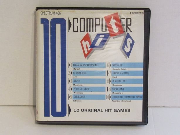 Jogos compilação 10 Computer Hits para Sinclair Zx Spectrum