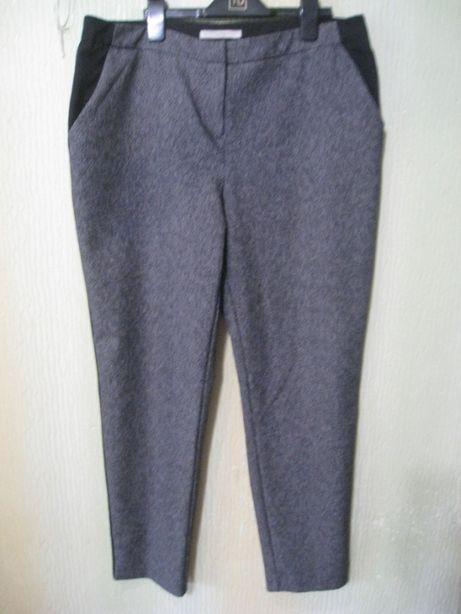 стильные зауженные женские брюки штаны с лампасами, р.50-52