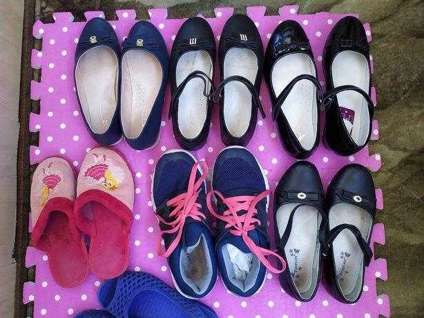 Обувь для девочки туфли