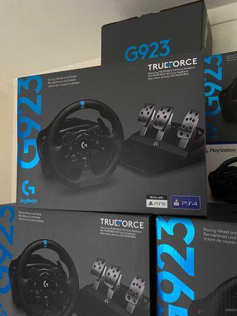 Volante Logitech G923 Trueforce - PS4/PS5/PC - ENTREGA IMEDIATA